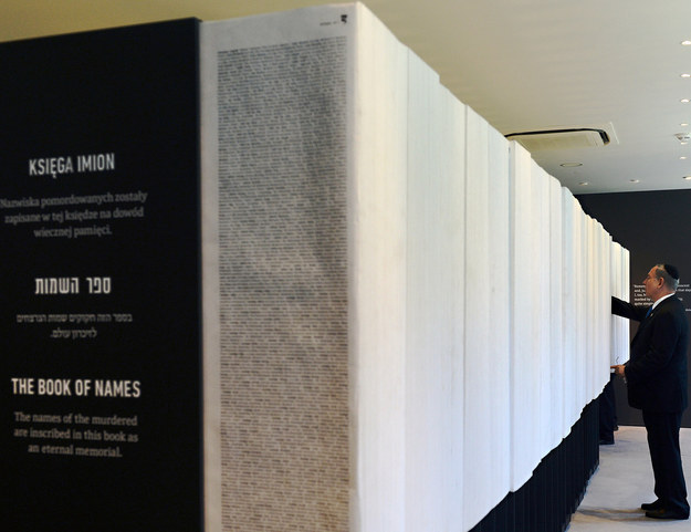 'The Book of Names' in the Holocaust Memorial Museum Yad Vashem in Jerusalem with the names of almost 6 million victims of World War II.