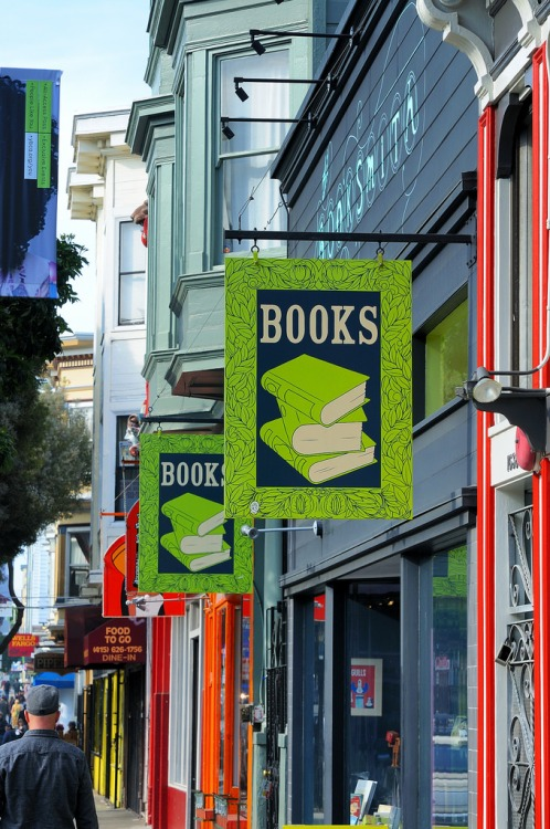 Boekhandel in Haight Ashbury, San Francisco