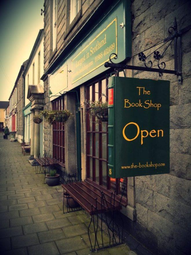 Antiquariaat in Wigtown, Schotland (Improbables Libraries, Improbables Bibliothèques)