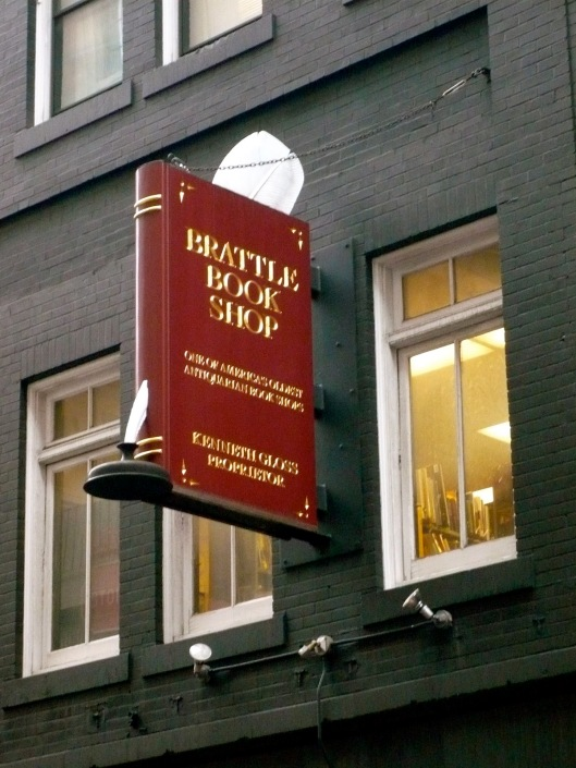 Brattle bookshop in Boston, Massachusetts (Bellatrixat)