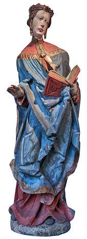 Heilige Elisabeth van Thüringen (1201-1231). Beeld afkomstig uit Beieren. In: Musée de l'oeuvre Notre Dame, Straatsburg (Wikipedia)