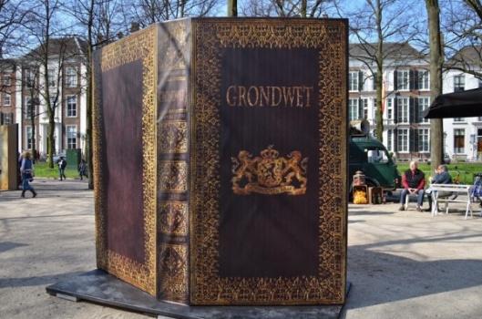 Festival 200 jaar Grondwet, Den Haag, Lange Voorhout, maart 2014