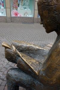 Leserin, Heidelberg ['Leben mit Büchern']