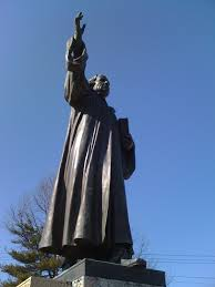 Luther monument in Baltimore, USA