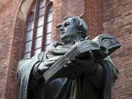 Standbeeld van Luther in Berlijn (foto Fotolia)