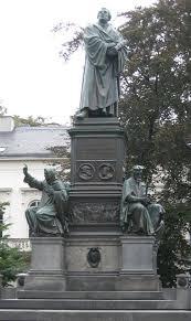 Luther Denkmal in Worms am Rhein