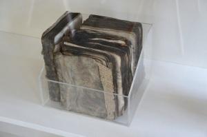 Tijdens WOII ernstig beschadigde boeken