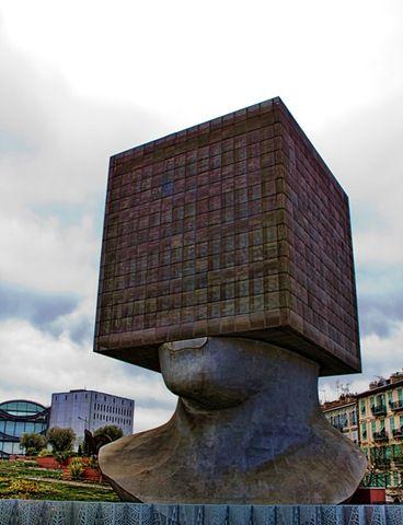 Openbare bibliotheek in Nice, Frankrijk
