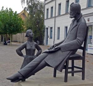 Nietzche in Naumburg door Heinrich Apel (2007)