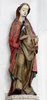 Beeld van Heilige OIda, 1480-1485. Atelier Meester Arnt Beeldenssnijder. Venray, R.K.Sint-Petrus' Bandenkerk