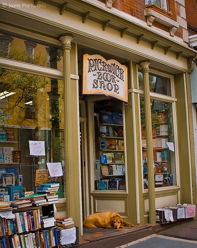 Pickwick Bookshop in London
