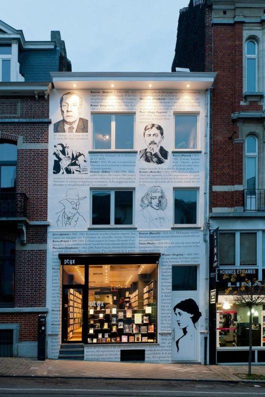 Boekhandel in Brussel