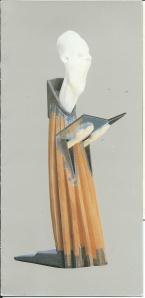 Kerstengel 1989 is een beeld van de Maastrichtse beeldhouwer Jeroen Meijs, 1989, getiteld 'Toewijding'.