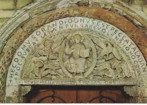 Maastricht: St. Servaaskerk. Ingang No, 'Majestas Domini', circa 1180