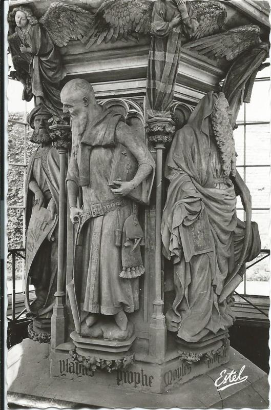 Chartreuse de Champol, de profeten Daniël, Isaias en Mozes