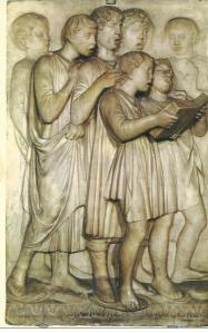 Florence: Museo di S.Maria de Fiore. Cantorij van Luca della Robbia