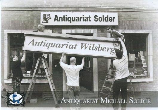 Van 14 tot 16 oktober 2014 is voor draaiwerkzaamheden van Eyeworks antiquariaat Solder tijdelijk vervangen in Wilsberg