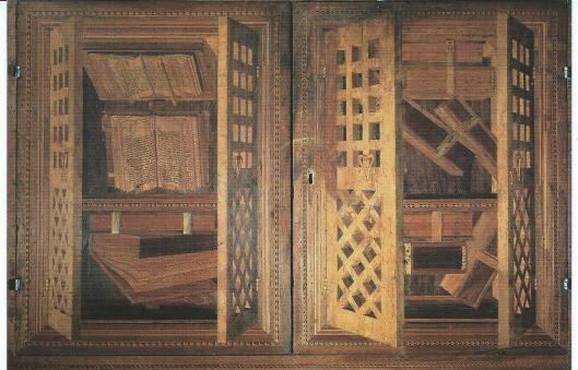 'Armadio aperti con libri' (Modic Editoria d'Arte)