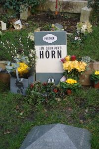 Zerk op begraafplaats Highgate in Londen (Claudia Stefanetti-Kojrowicz)