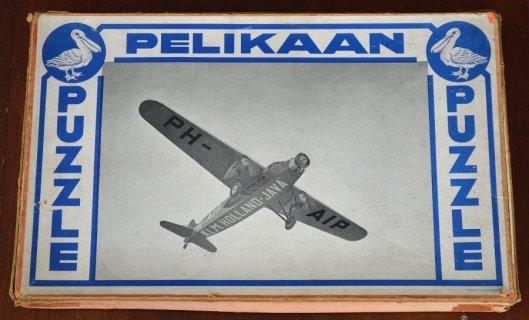 Doos van legpuzzle Pelikaan