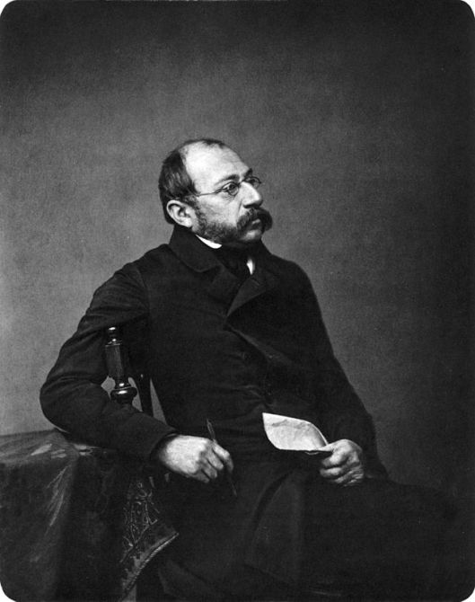 Foto van Carl Spitzweg uit 1860