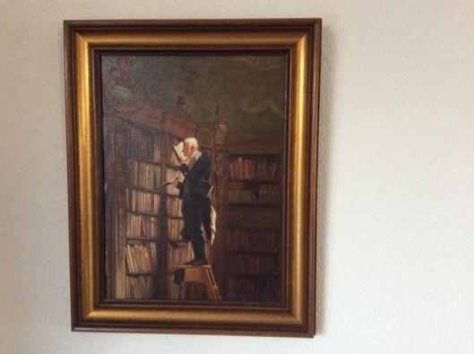Eén van de talrijke naschilderingen