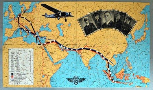 Nog een legpuzzel gewijd aan de Pelikaan-recordvlucht