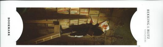 Carl Spitzweg, De Boekenwurm. Bladwijzer van Bekking & Blitz; uitgevers, Amersfoort