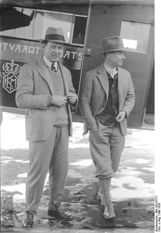 Smirnoff en Aler in 1929