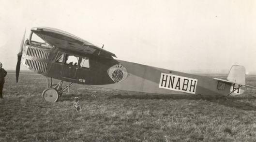 Het door Smirnoff op Goodwinsands, Australië, succesvol op de grond gezette vliegtuig