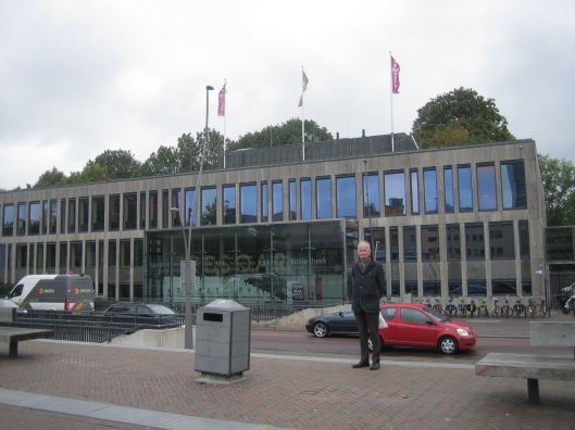Hans Krol voor Tresoar in Leeuwarden 7-9-2915
