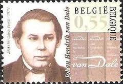 In 2005 wijdde de Belgische Posterijen een postzegel aan J.H.van Dale (1828-1878), lexicograaf, die van 1855 tot 1872 werkte als gemeentearchivaris van Sluis in Zeeuwsvlaanderen