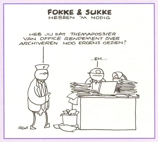 Cartoon van Fokke & Sukke