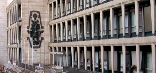 Algemeen Rijksarchief in Brussel nabij de Kunstberg in het centrum