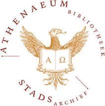Logo van gezamenlijk Stadsarchief en Athenaeumbibliotheek Deventer (als stadsbibliotheek gesticht in 1560)