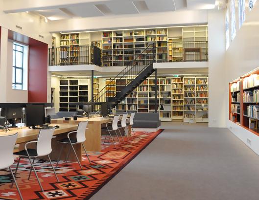 Studiezaal van archief Doetinchem