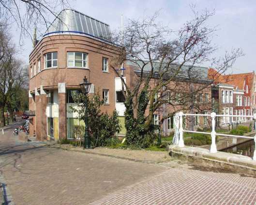 Gebouw van Erfgoed Leiden en Omstreken (ELO), voorheen gemeentearchief Leiden