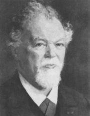Portret van Robert Fruin Th. Azn. (1857-1935), rijksarchivaris van Zeeland van 1894 tot 1912, vervolgens algemene rijksarchivaris en directeur van het Algemeen Rijksarchief (ARA) tot 1933.