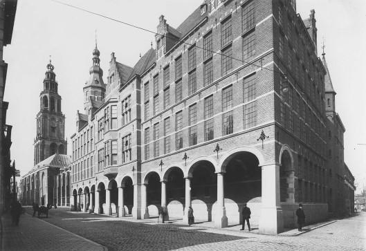 Het voormalig gebouw van het Groninger Archief