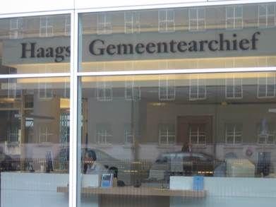 Het Haags Gemeentearchief, gevestigd in het stadhuiscomplex