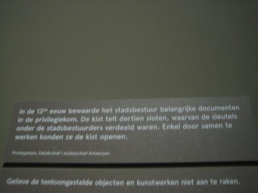 Plaatje bij tentoonstelling 450 jaar stadhuis Antwerpen (2015)
