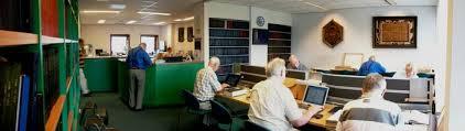 Studiezaal van het Westlands Archief in Naaldwijk
