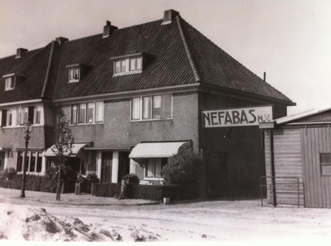 Entee naar Nefabas aan de Havenstraat in Heemstede (archief Els Heeremans)