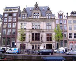 Het Nederlands Instituut voor Oorlogsdocumentatie (NIOD) in Amsterdam