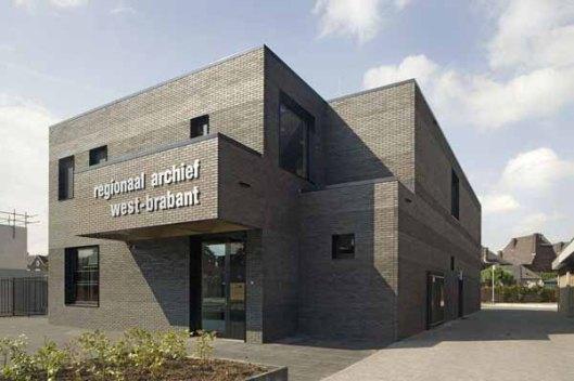 Het nieuwe pand van het Regionaal Archief West-Brabant in Oudenbosch (foto Studio Aksento)