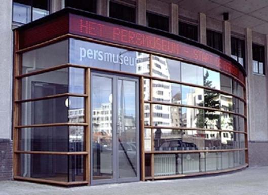Entree Persmuseum Amterdam