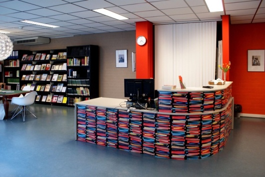 Entree van archief en museum Roosendaal