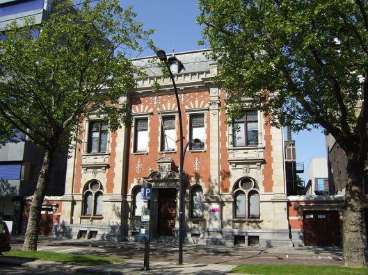 Foto van het vroegere gemeentearchief van Rotterdam