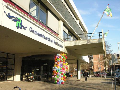 Huidige huisvesting van Gemeentearchief Rotterdam