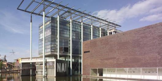 Nog een afbeelding van het NAI in Rotterdam